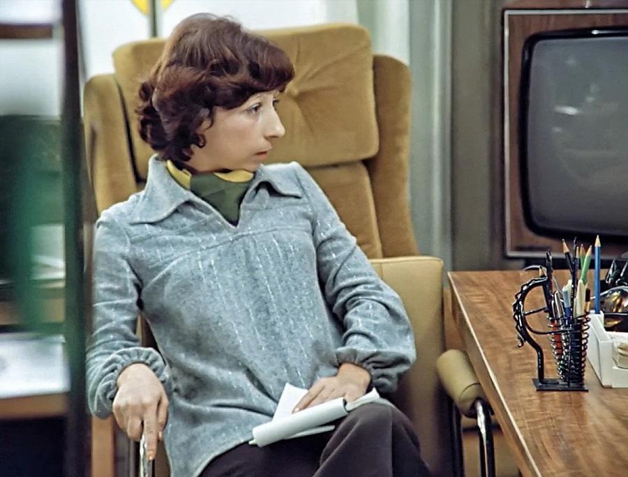 Стиль Верочки и мода 70-х в фильме Служебный роман (1977)