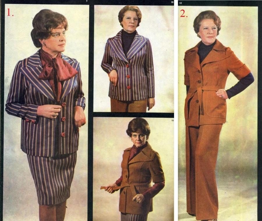 Таллинский журнал Siluett предлагает немолодым дамам комбинировать разные варианты делового стиля.jpg