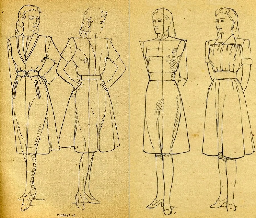 14 Рисунки из пособия «Рисование моделей одежды» под ред И.А. Тер-Овакимян. М.jpg