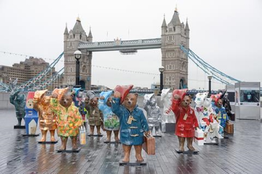 6 2014 London has been invaded by 50 Paddington statues ahead of the film's release.jpg