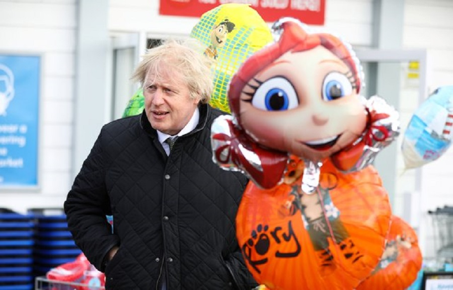10  Prime Minister Boris Johnson during a visit to Haven Perran Sands Holiday Park in Perranporth, Cornwal.jpg