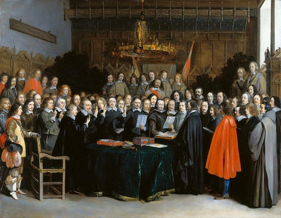 __________Вестфальский мир (картина Герарда Терборха (1648 год)).jpg