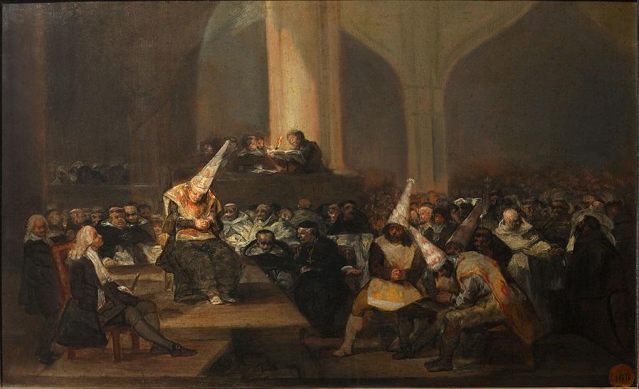 «Трибунал инквизиции», Ф. Гойя (1812—1819).jpg