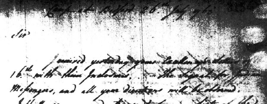 3 В письме от 26 июля 1763 года Букет подтверждает одобрение Амхерста и пишет Все ваши Указания будут соблюдаться.jpg