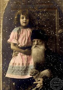 4  Дед Мороз с девочкой на Rozhdestvo.jpg