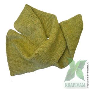 20 skarf  крапива жгучая, крапива двудомная, Овечья шерсть, меринос, волокна крапивы.jpg