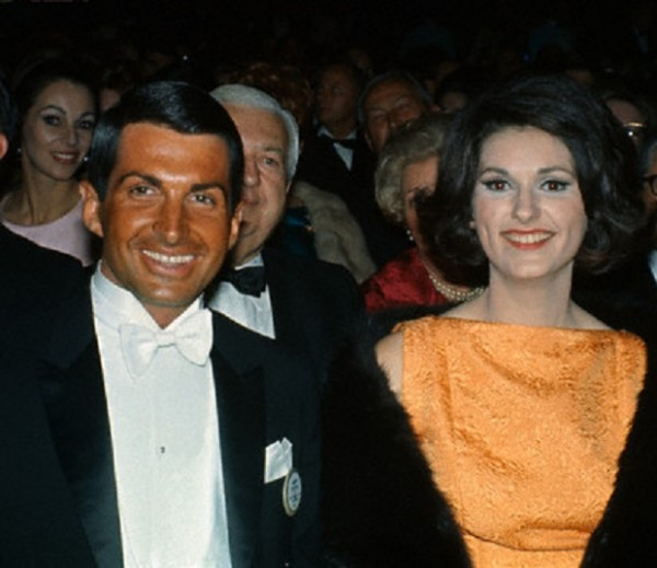 First Daughter Lynda Bird Johnson at the 1966 Oscars with her date, actor George Hamilton (Corbis.jpg