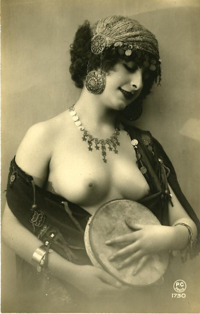 дореволюционные черно-белые старинные эротические фото - 9