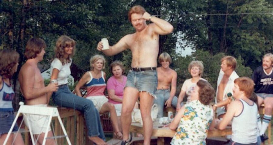 Фотоальбом семей нудистов