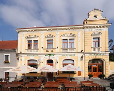 Отель У Зелёного Дерева (г.Непомук, Чехия)