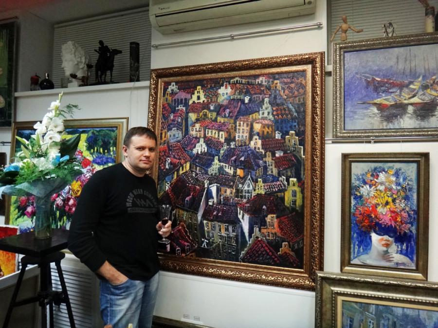В Арт-галереи Байрама Саламова