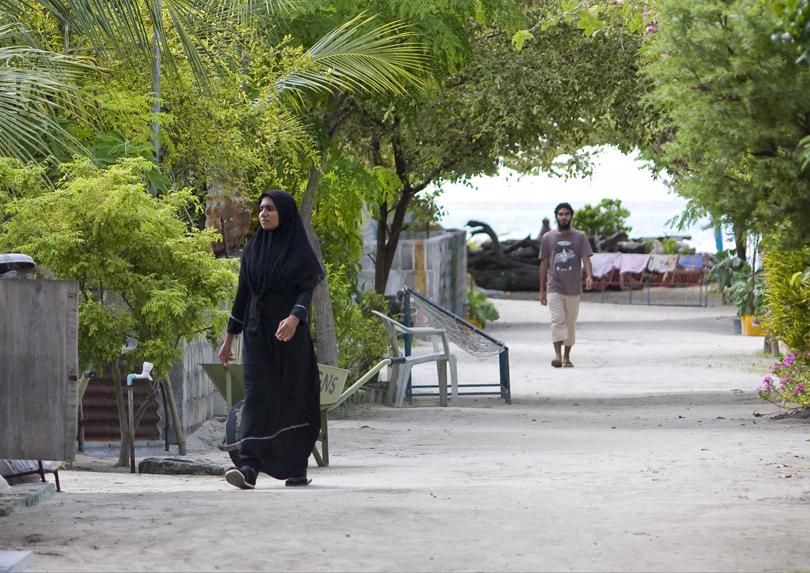 Мальдивый. Жительница острова Guraidhoo