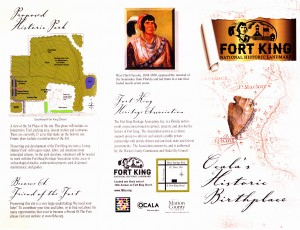 fort king brochure