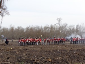 British advance