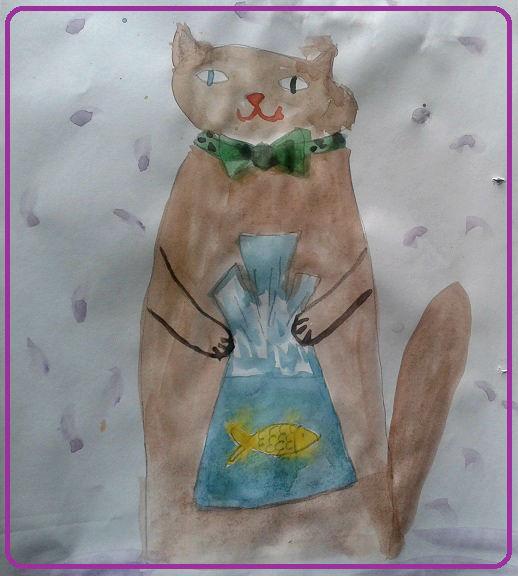кот Васька и золотая рыбка
