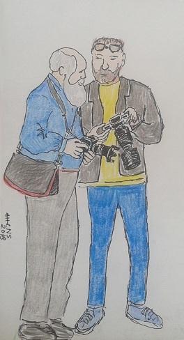 двое фотографов