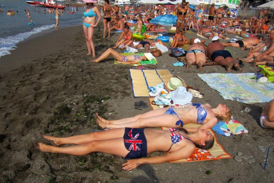 Лето, девушки, пляж и так далее. » Поржать. ру 88