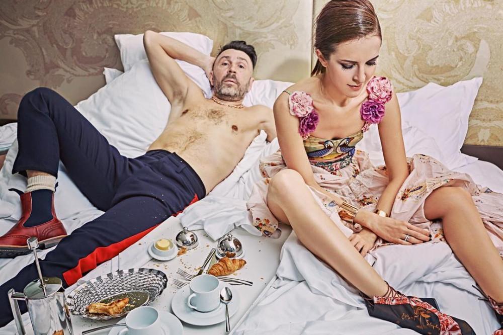 Сергей шнуров и его жена матильда фото