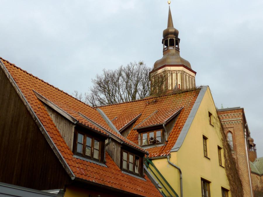Догадайтесь, что необычного в этой крыше?