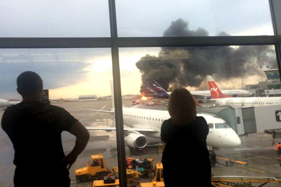 О катастрофе SSJ100 в Шереметьево