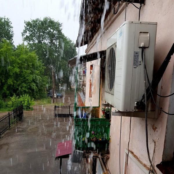 Потоп в в уездном городе В. !!!  Видео