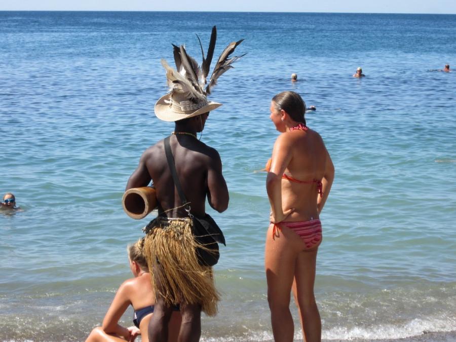 Секс на пляже в судаке