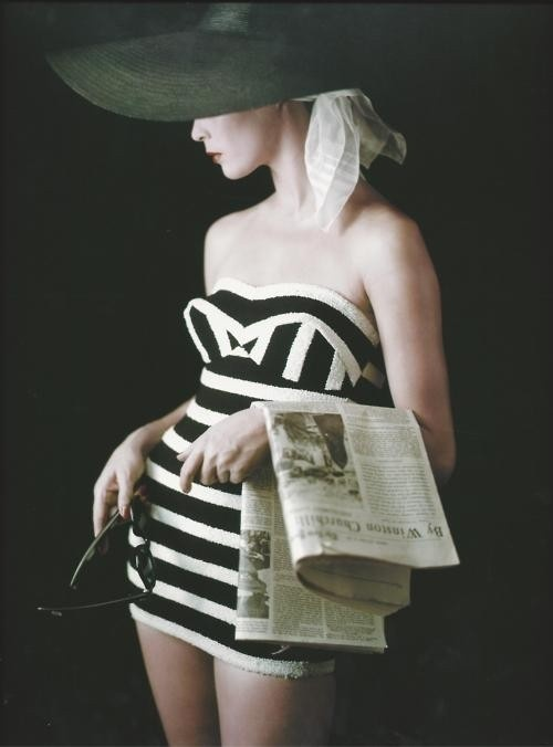 Jean Patchett, 1953, photo by Milton H. Greene