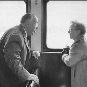 FPG_Lebeck, Mr. and Mrs. Hitchcock, Hamburg 1960_1