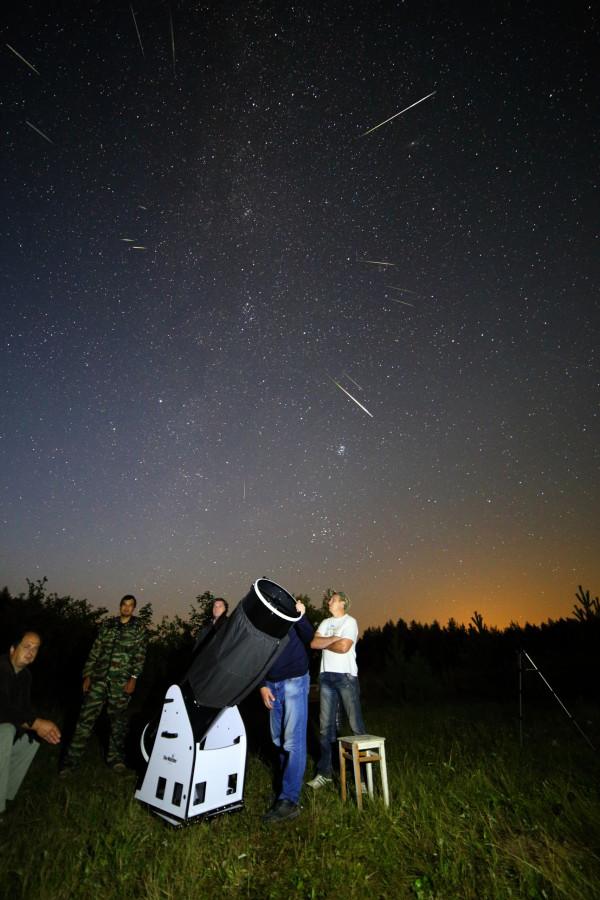 Астрослет «Персеиды-2016» в Чувашии