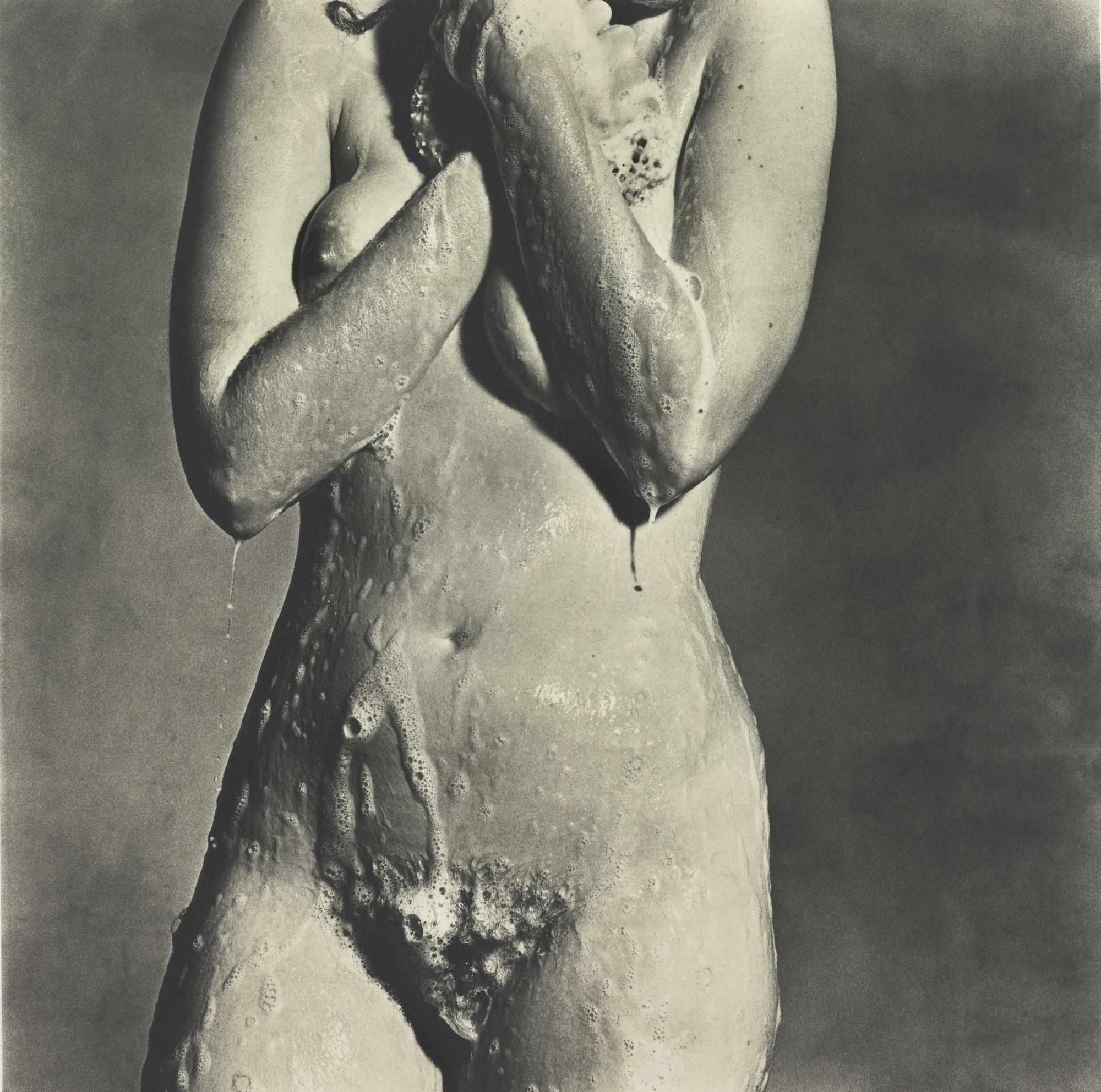 Irving_Penn_-_Nude_Torso__Soaping__New_York__1978
