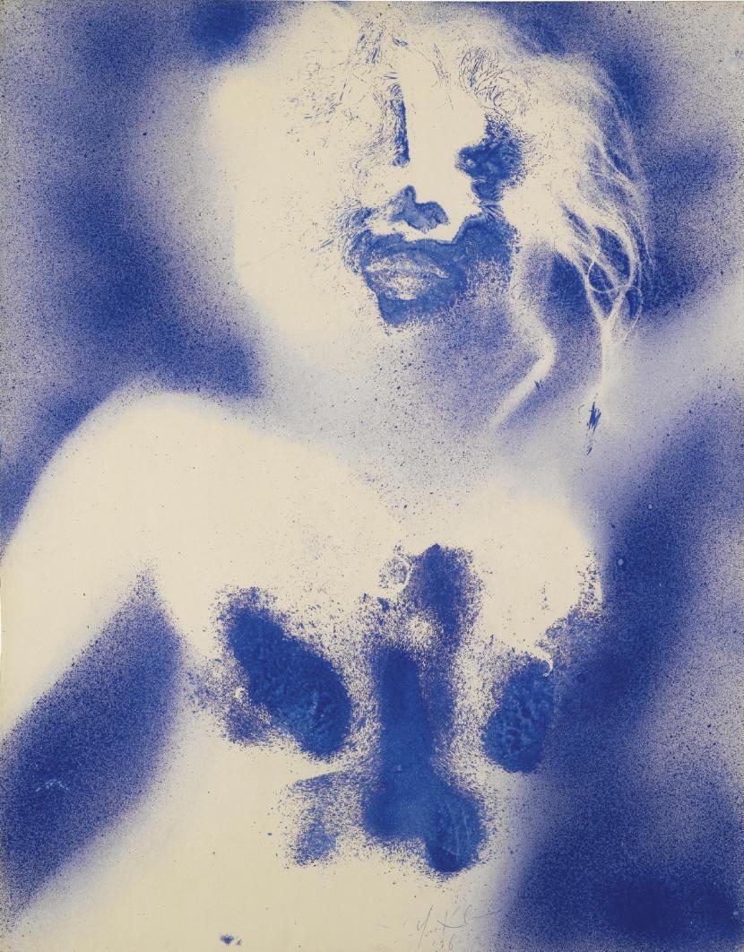 Yves Klein, La Marsellaise, 1960_1