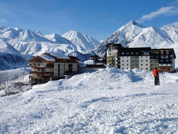 Private секс в доме в снежных горах