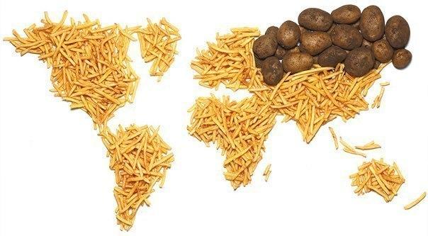Экономическая карта мира
