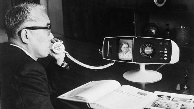 Видеотелефон Тошиба 500, Япония, 1968 год