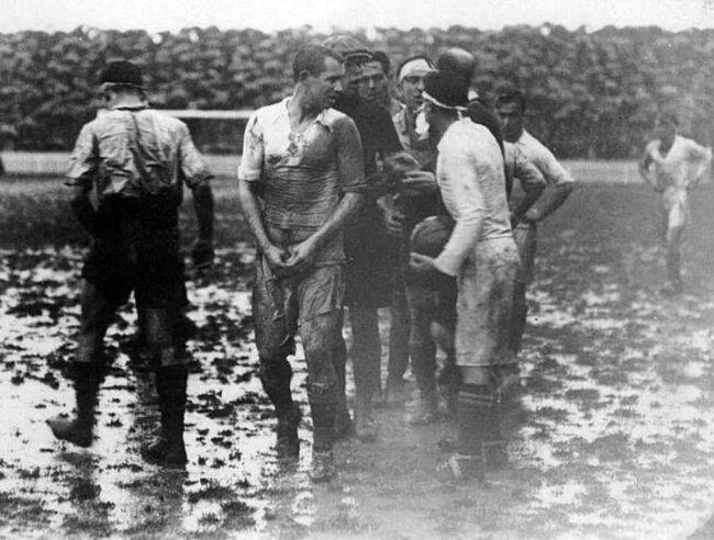 Первый футбольный матч между командами «Реал Мадрид» — «Барселона». Испания, 1929 год