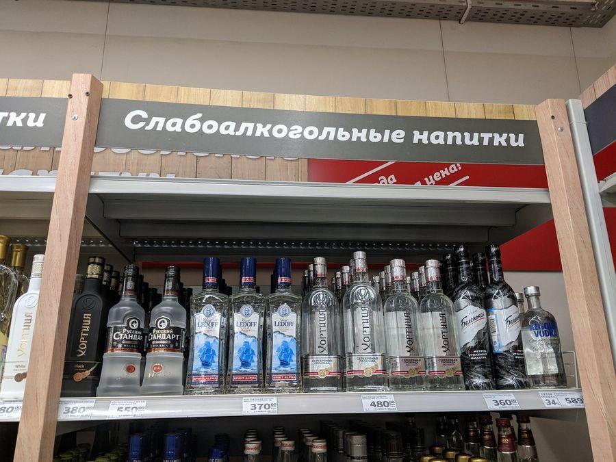 Слабоалкогольные напитки утром 10 января