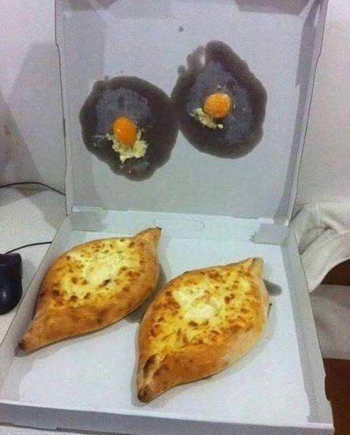 Яйца отдельно, булки отдельно