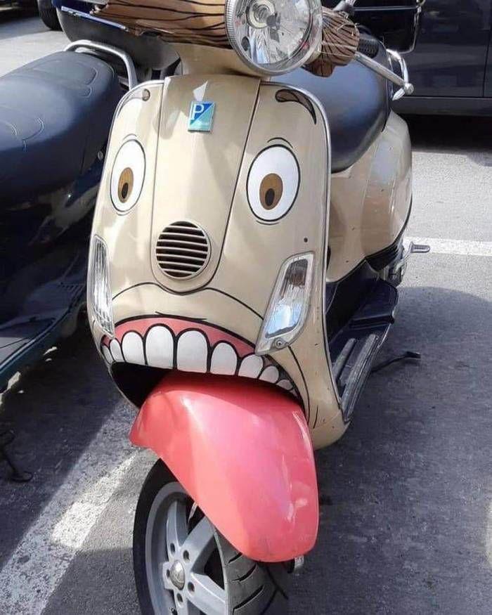 Скутер-мутер