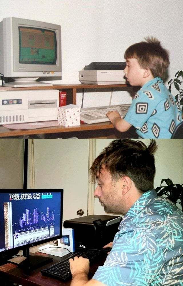 Столько лет прошло, а я, оказывается, не сильно изменился