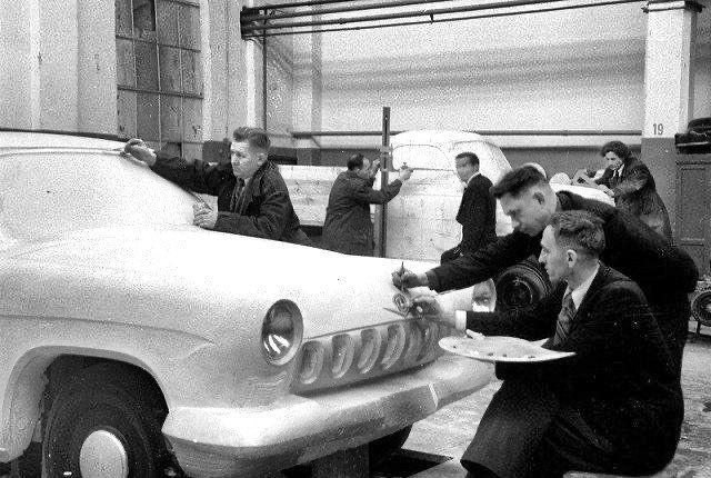 Макет первой «Волги», Горьковский автозавод, 1954-й г.