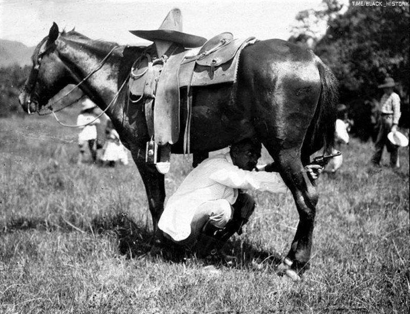Тактическая хитрость солдат во время Мексиканской революции. 1913-й год