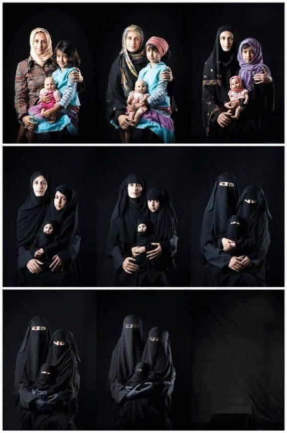 «Исчезновение женщин», работа йеменского фотографа Бушры аль-Мутавакиль
