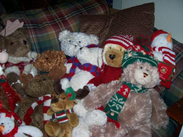 christmas bears three