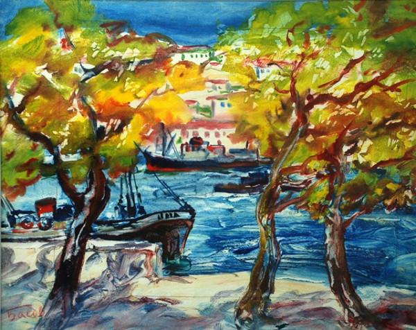 выставка крымского художника Якова Басова