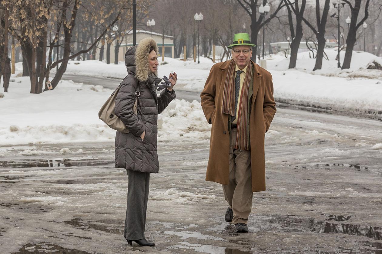 Посол Ирландии в России Филип МакДона