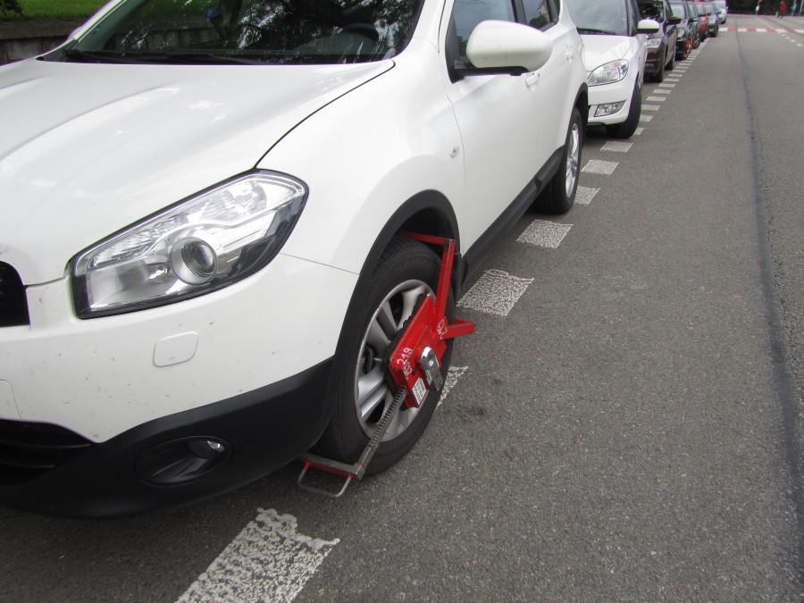 Вот что бывает за нарушение правил парковки