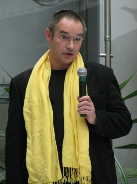 Антон Носик на лекции по монетизации блогов