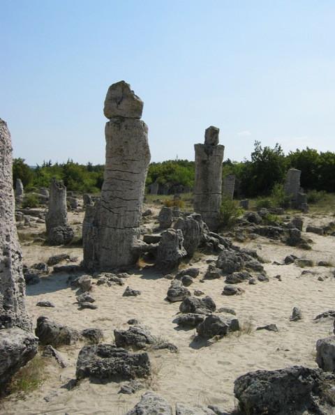 Вбитые камни-2, Варненская низина, Болгария.