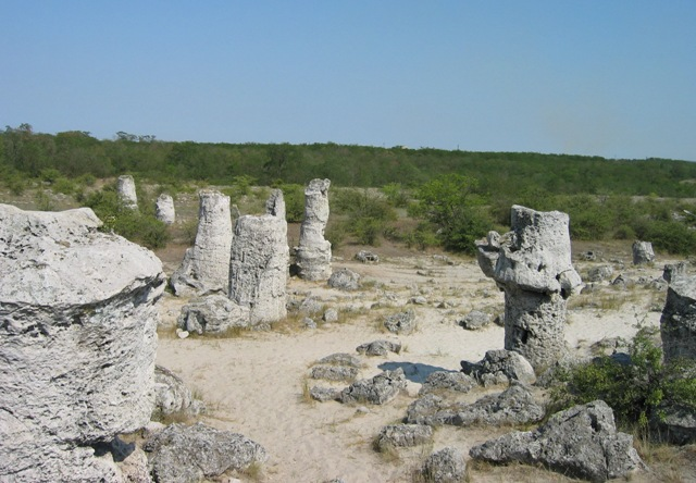 Вбитые камни, Варненская низина, Болгария.