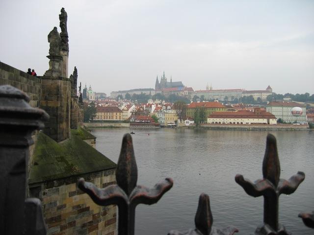Прага, Вид на реку Влтаву